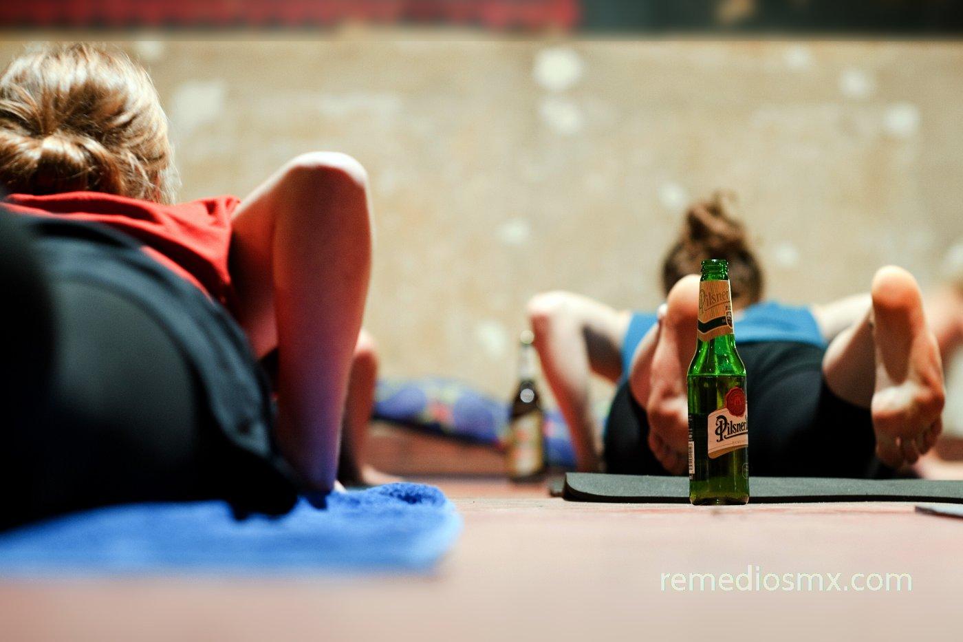 Yoga con cerveza: una mayor relajación