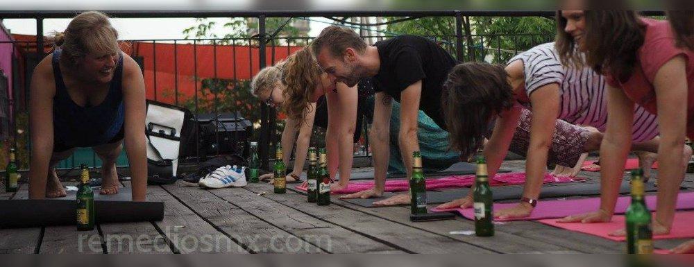 yoga cerveza bieryoga